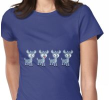 LOOK! It's Rudolph! Womens Fitted T-Shirt