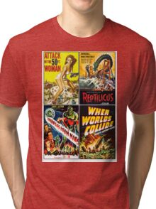 1950s Sci-Fi Poster Collection #2 Tri-blend T-Shirt