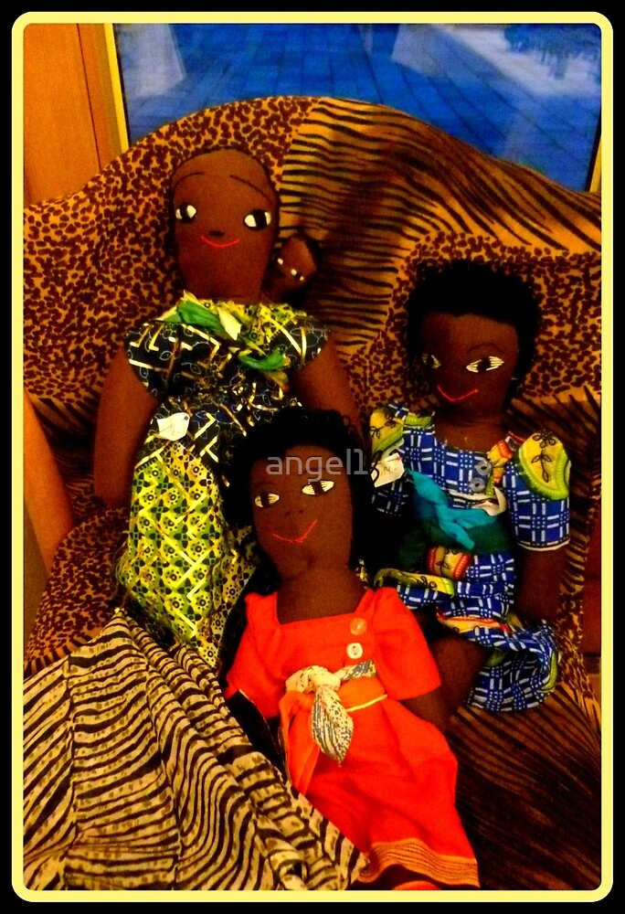African Dolls by ©The Creative  Minds