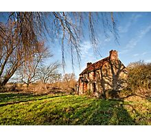 Stenwith Lock Keepers Cottage Photographic Print