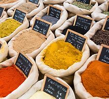 Variety of spices by Marco7r7