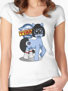 My Little Tina Women's Fitted Scoop T-Shirt