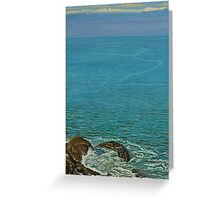 Boundless ocean Greeting Card
