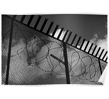 Imprisoned Black and White Poster