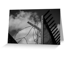 Freedom Within Reach (B&W) Greeting Card