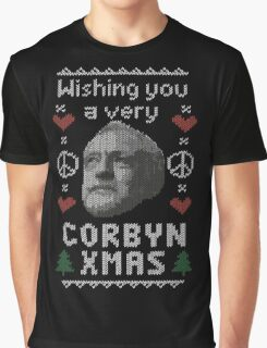 Wishing You A Very Corbyn Xmas Graphic T-Shirt