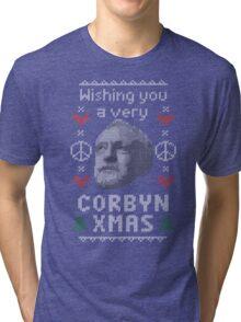 Wishing You A Very Corbyn Xmas Tri-blend T-Shirt