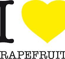 I ♥ GRAPEFRUITS by eyesblau