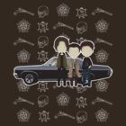 Supernatural cute team free will / Sam & Dean Winchester / Castiel by koroa