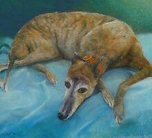 Brindle Greyhound by Howard Scherer