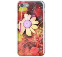 Beautifully Unbound Wild Daisy Floral Art Work iPhone Case/Skin
