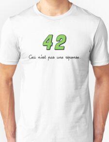 42 n'est pas une réponse (DARK) T-Shirt