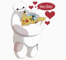 Baymax hugs Pokemon Hairy Baby hero Kids Clothes