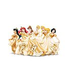 Princesses in Gold by gleviosa