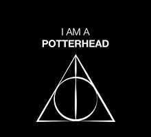 I am a Potterhead for dark backgrounds by EF Fandom Design