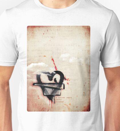 a broken heart lasts forever Unisex T-Shirt