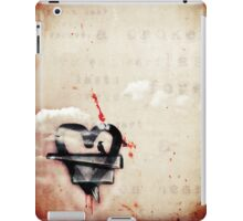 a broken heart lasts forever iPad Case/Skin