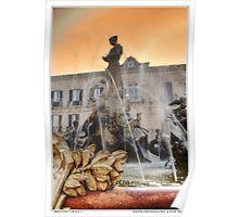 diana fountain Poster