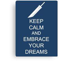 Embrace your dreams Canvas Print