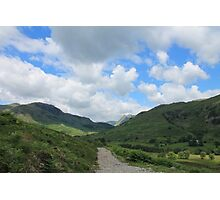 Path Towards The Langdales Photographic Print