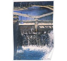 C and O canal lock Poster