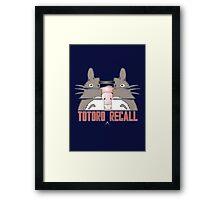Totoro Recall Framed Print