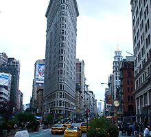 THE FLATIRON BUILDING by Alain Robillard