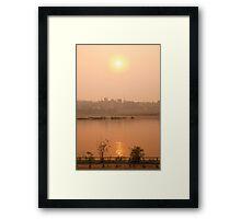 Nam Mae Khong Framed Print