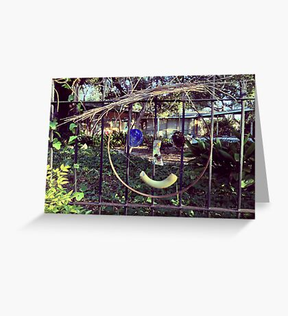 Glass Smile Greeting Card