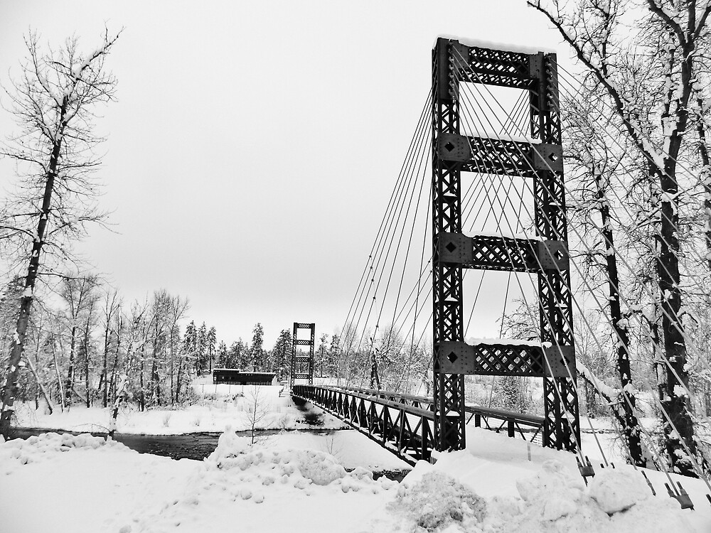 Bridge over the Methow by Randy Richards