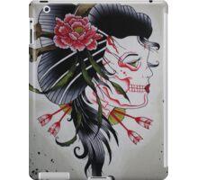 Skeletal Geisha iPad Case/Skin
