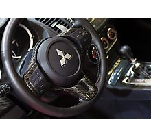 Mitsubishi Lancer Evolution X Wheel [ Print & iPad / iPod / iPhone Case ] Photographic Print