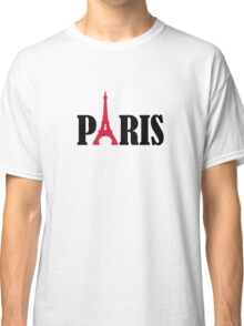Paris Eiffel Tower Classic T-Shirt