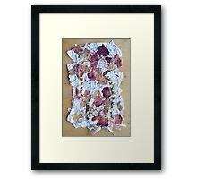 feeling fragile Framed Print