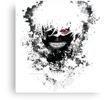 Tokyo Ghoul - The Eyepatch Ghoul (White Version) Canvas Print