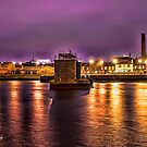 Golden Light Of Belfast by peter donnan