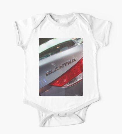 Hyundai Elantra Back Red Light [ Print & iPad / iPod / iPhone Case ] One Piece - Short Sleeve