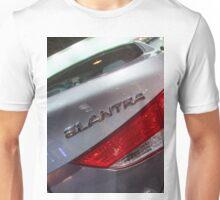 Hyundai Elantra Back Red Light [ Print & iPad / iPod / iPhone Case ] Unisex T-Shirt