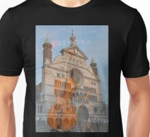 The magnificent cathedral city of Cremona in Italy Unisex T-Shirt