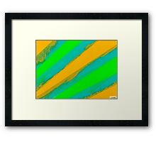 Abstract Color Painting Series-1 Framed Print