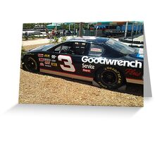 Dale Ernharts car Greeting Card