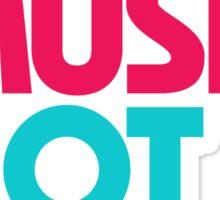 Make Music Not War (Venerable) Sticker