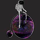PENNY FARTHING SPACE CYCLE by Nichole Lillian Ryan