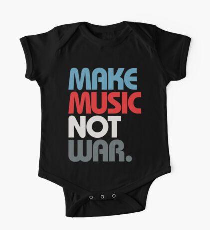 Make Music Not War (Prime) One Piece - Short Sleeve