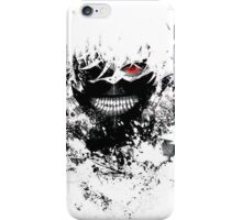 Tokyo Ghoul - The Eyepatch Ghoul (White Version) iPhone Case/Skin