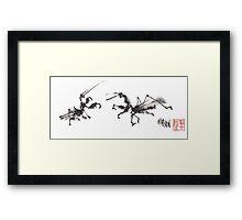 Mantis 2 Framed Print