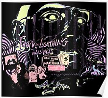 fear and loathing in las vegas black light Poster