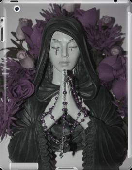 Purple Mary by Laura Mancini