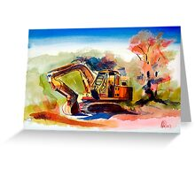 Duty Dozer 2 Greeting Card