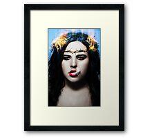 Personal Jesus Framed Print